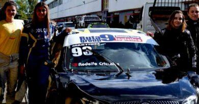 Primer equipo femenino llega al Top Race